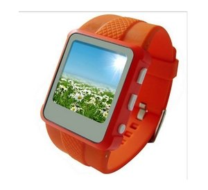 Часы шпаргалка Escowatch Smart, модель Q888 (Orange) 4Gb FM