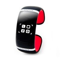 Bluetooth-браслет Smartx L12s (black - red 58mm) с touch screen