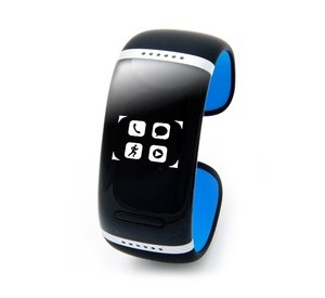 Bluetooth-браслет Smartx L12s (black - blue 58mm) с touch screen