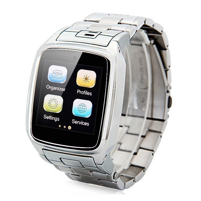 Часы-мобильный телефон TopWatch TW810d (silver) - купить в Интернет ... 0d2f66a5c52d0