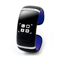 Bluetooth-браслет Smartx L12s (black - violet 58mm) с touch screen
