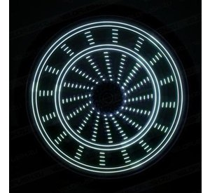 Anvii wheel lights DELUXE (white)