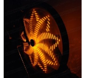 Anvii wheel lights DELUXE (yellow)