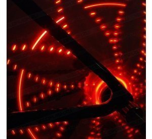 Anvii wheel lights STANDARD (red)
