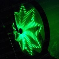 Anvii wheel lights STANDARD (green)